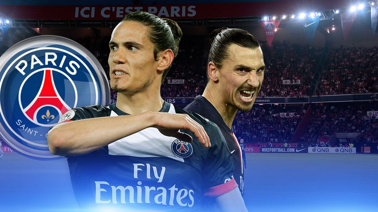 Will Edinson Cavani And Zlatan Ibrahimovic Finally Click To Fire Psg Past Chelsea Football News Sky Sports