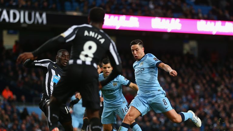 Nasri ready to pull the trigger against Newcastle