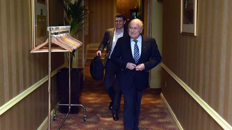 FIFA President Sepp Blatter: Dismissed calls to boycott the 2018 World Cup
