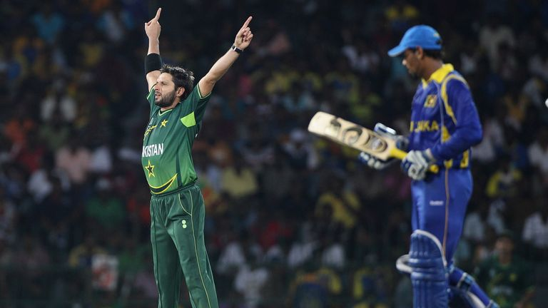 Shahid Afridi shone for Pakistan as they reached the semi-finals four years ago