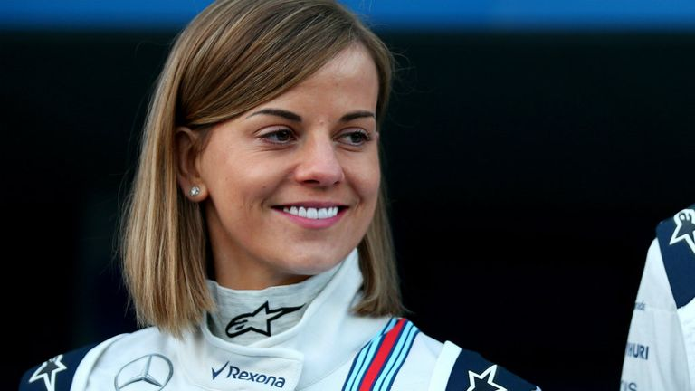 Susie Wolff will drive in two more P1 sessions this year