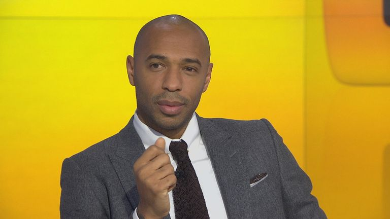 Thierry Henry: Arsene Wenger may have delved further into the transfer market if Francis Coquelin hadn¿t put in several impressive performances for Arsenal