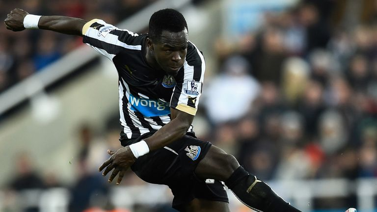 Tiote left Newcastle in February and moved to China with Beijing Enterprises