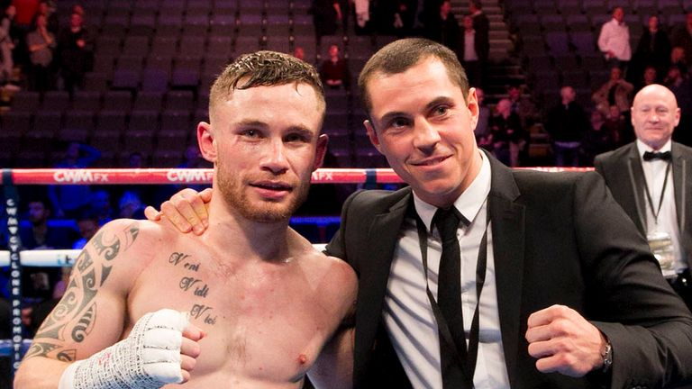 Carl Frampton (left) and Scott Quigg: Fight fans have craved the bout for the past 18 months