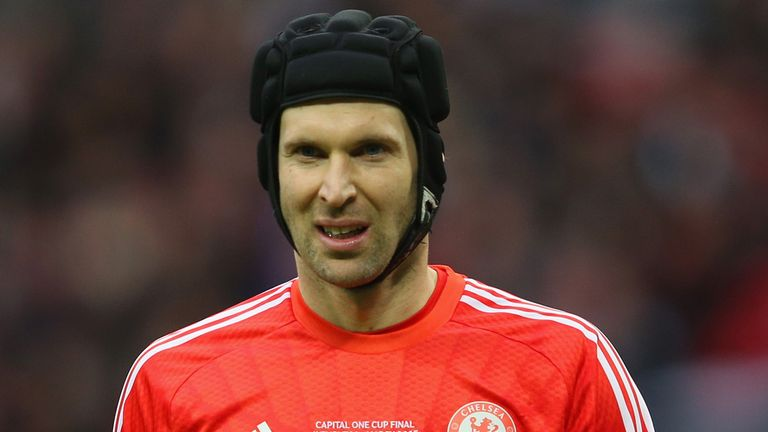 Petr Cech: Linked with a move from Stamford Bridge