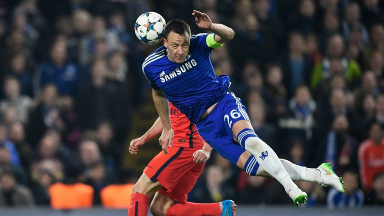 John Terry's performances led to a  contract extension with Chelsea