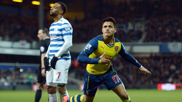 Alexis Sanchez is back among the goals for Arsenal after going seven games without scoring