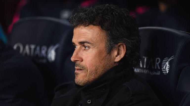 El técnico del Barcelona Luis Enrique realizará inspecciones antes de la Liga del FC Barcelona y Real Madrid (Camp Nou)