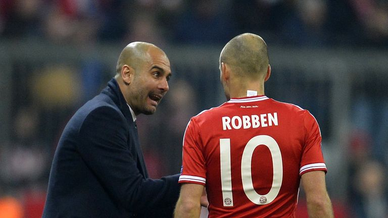 Robben is enjoying himself under Guardiola and insists he's still learning