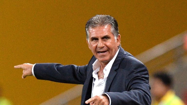 Carlos Queiroz says he is flattered by Colombia's interest