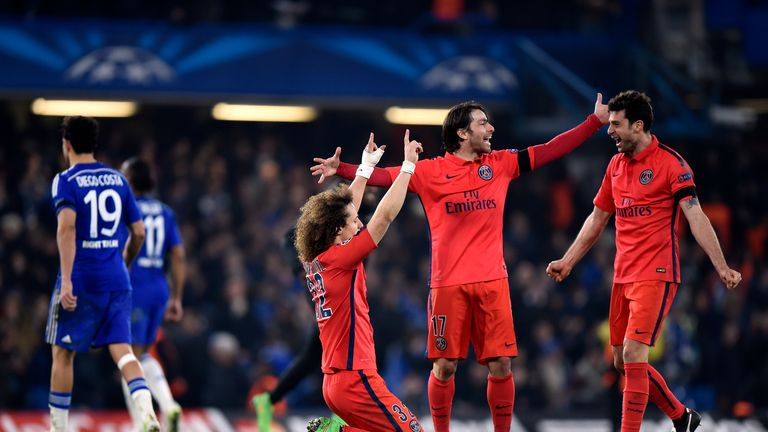 Paris St Germain appeared physically and mentally stronger than Chelsea