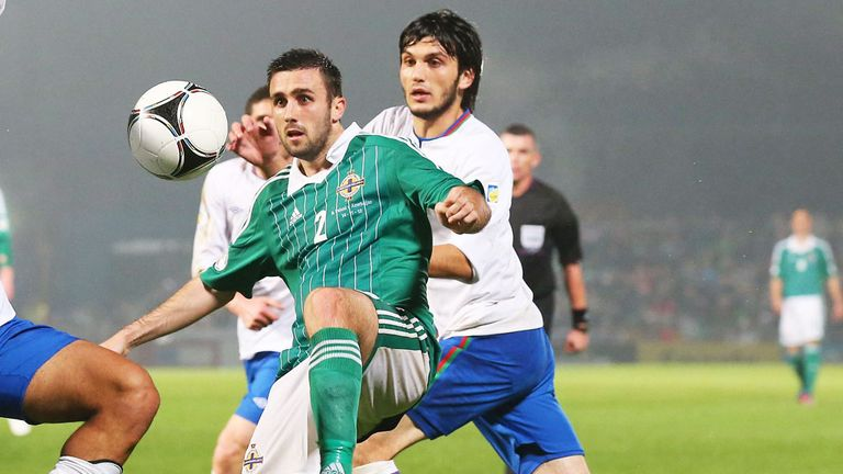 Daniel Lafferty: Northern Ireland defender on loan at Rotherham