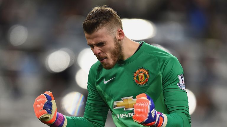 LVG: David De Gea 'unbelievable'