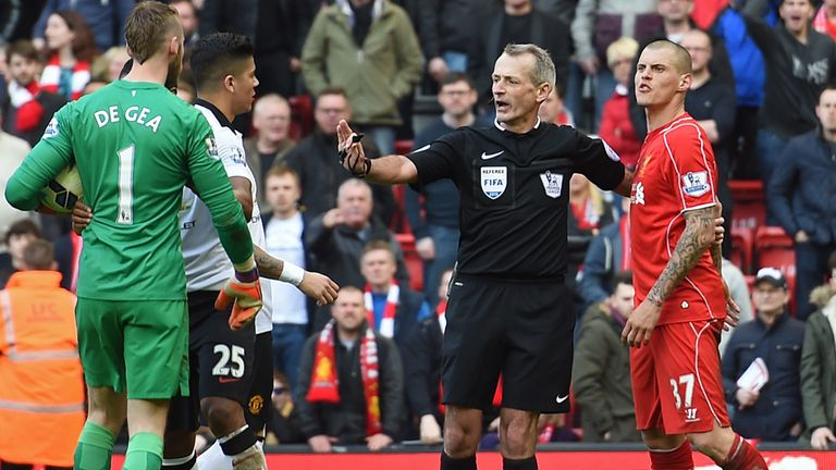 Martin Skrtel: Charged after clash with David de Gea