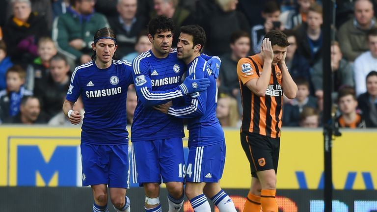 Chelsea feature on Saturday Night Football against Stoke