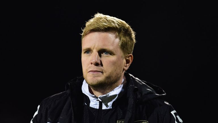 Eddie Howe: 'Delighted' with heavy victory