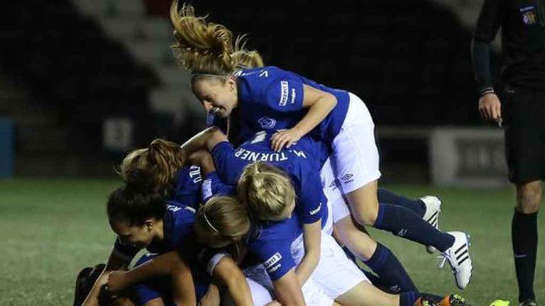 Everton Ladies return to FA WSL 1 next season