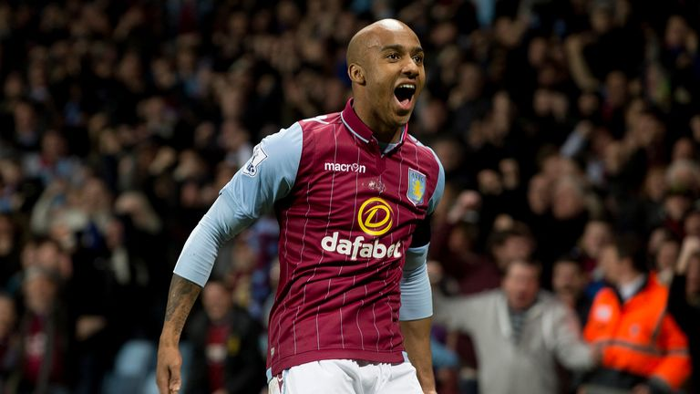 Fabian Delph: The midfielder will captain Aston Villa in this years FA Cup final at Wembley