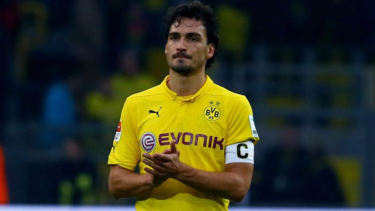 Mats Hummels: May one day leave Dortmund for a foreign club