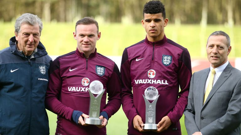 Dominic Solanke won England's young player of the year in 2015
