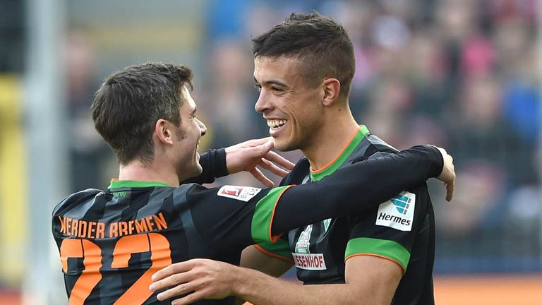 Franco Di Santo was the hero for Werder Bremen