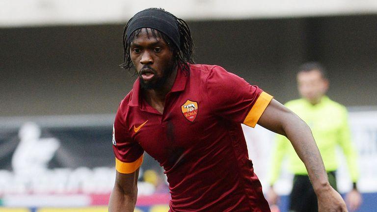 Roma striker Gervinho