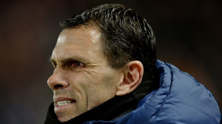 Gus Poyet must be very frustrated with his team's attacking