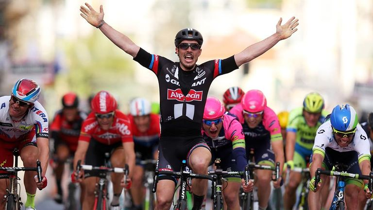 Milan-San Remo, won by by John Degenkolb last year, is one of the five Monuments
