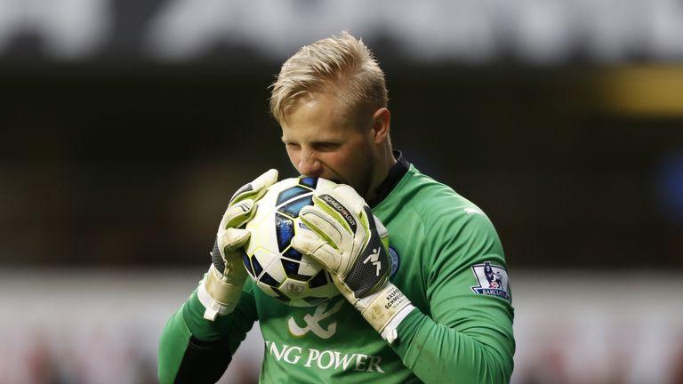 It's been a frustrating season for Leicester goalkeeper Kasper Schmeichel.
