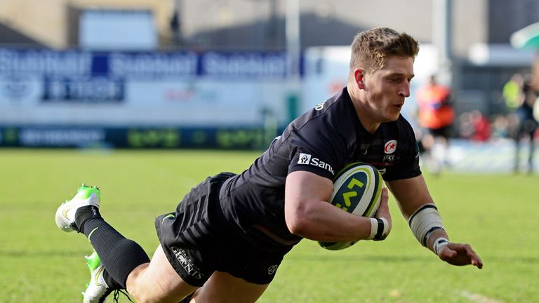 David Strettle was part of Saracens' title-winning campaign last season