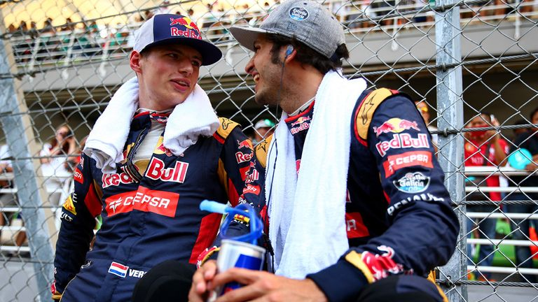 Max Verstappen and Carlos Sainz: Both finished in the points