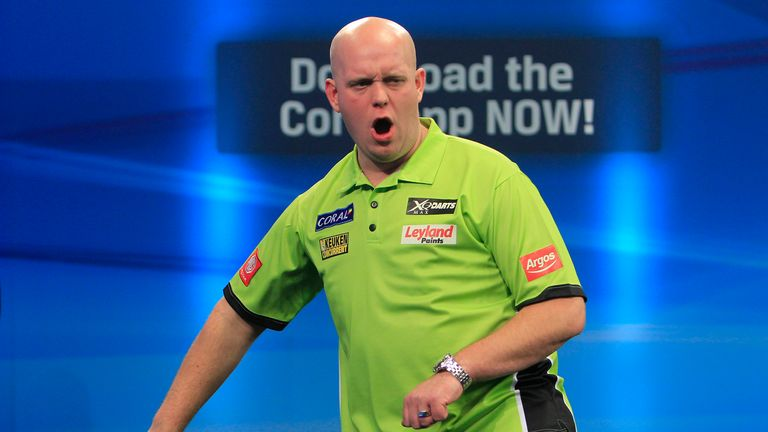 Michael van Gerwen: Took the title for the first time (picture by Lawrence Lustig)
