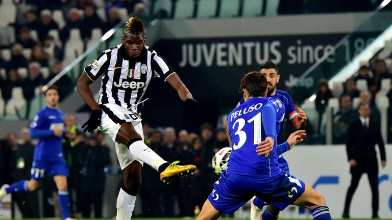 Barca to enter race for coveted Paul Pogba