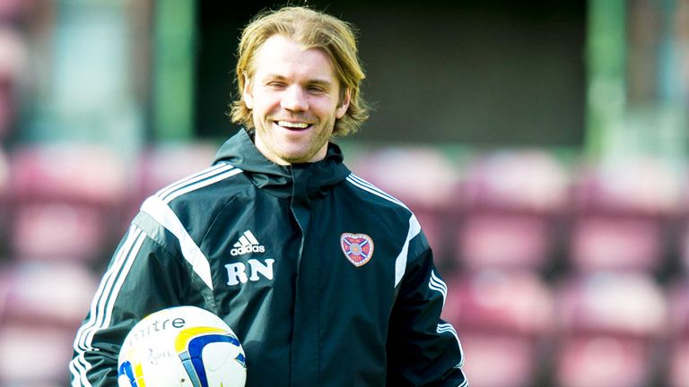 Robbie Neilson: Hearts boss has won promotion in his first season