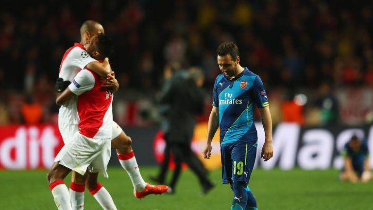 Monaco's solid performance at the Emirates Stadium did for Arsenal