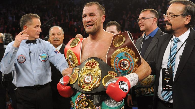 Sergey Kovalev remains unbeaten after easily defeating Nadjib Mohammedi