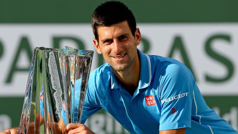 Novak Djokovic is the three-time defending champion