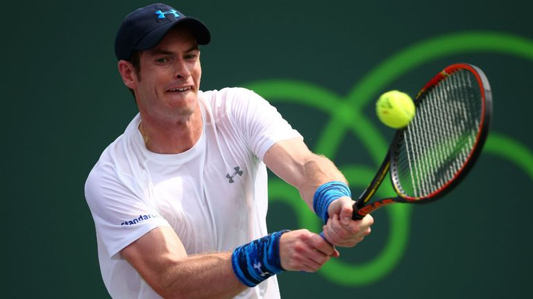 Andy Murray: Dispatched Santiago Giraldo with ease