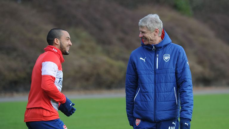 Theo Walcott and Arsene Wenger: No talks yet on new Arsenal deal