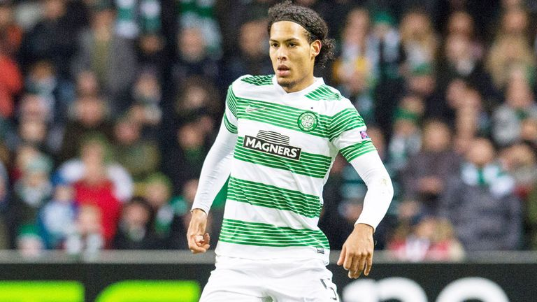 Virgil van Dijk: Celtic defender will play against Dundee United