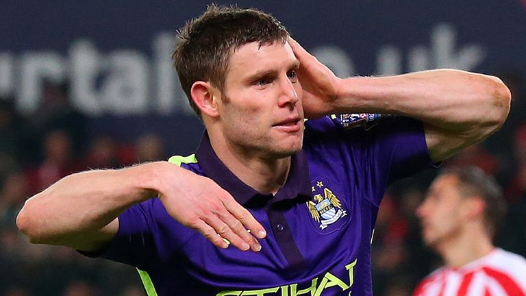 The England midfielder started 18 Premier League games for City in the 2014/15 season