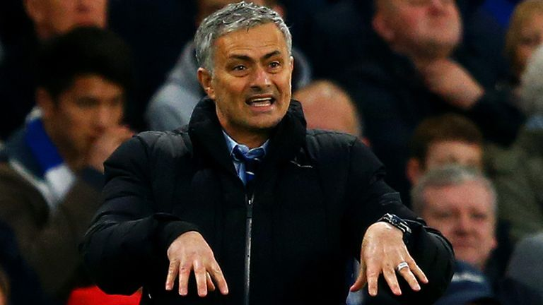 Jose Mourinho's Chelsea are still in pole position for the title