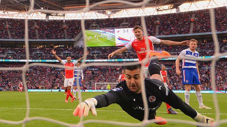 Adam Federici: Fails to keep out Alexis Sanchez's shot