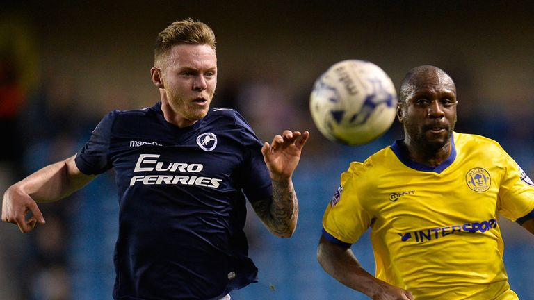 Aiden O'Brien: Battles for the ball with Emmerson Boyce
