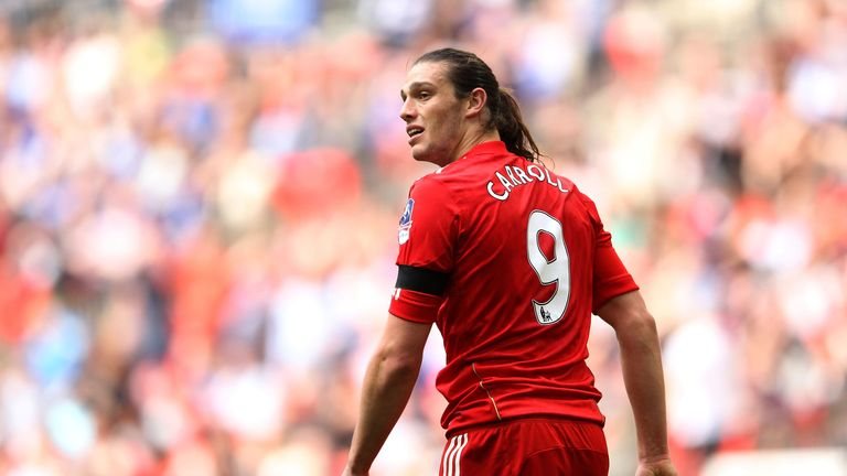 Striker Andy Carroll cost Liverpool a club-record £35m to buy from Newcastle United in January 2011