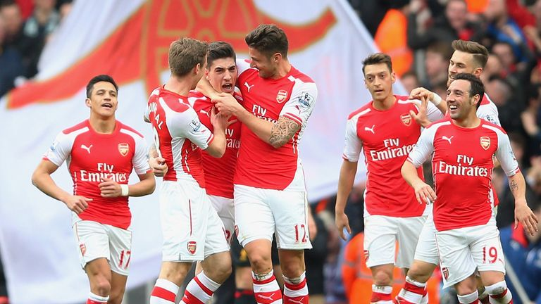 Arsenal beat Liverpool 4-1 on Saturday - their seventh win in a row in the Premier League