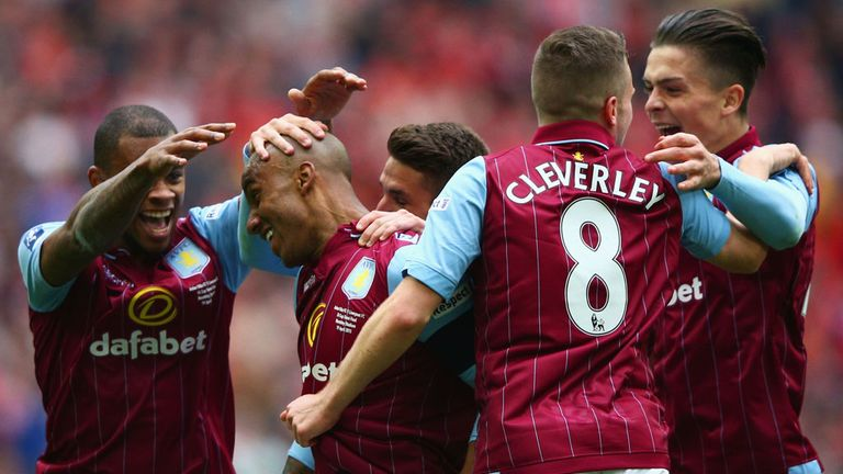 And Fabian Delph scored Villa's second as they came from behind to win 2-1 and reach the final