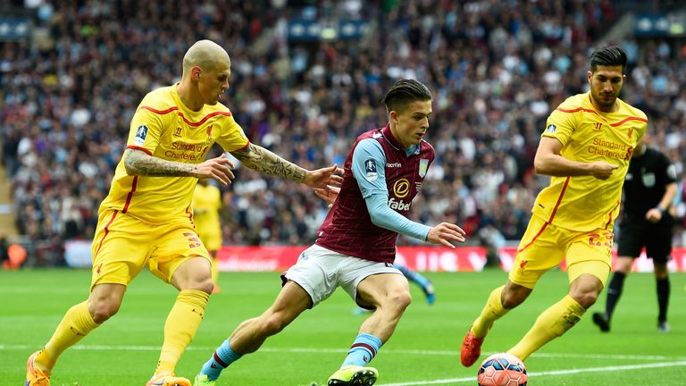 Jack Grealish produced a confident and mature performance at Wembley