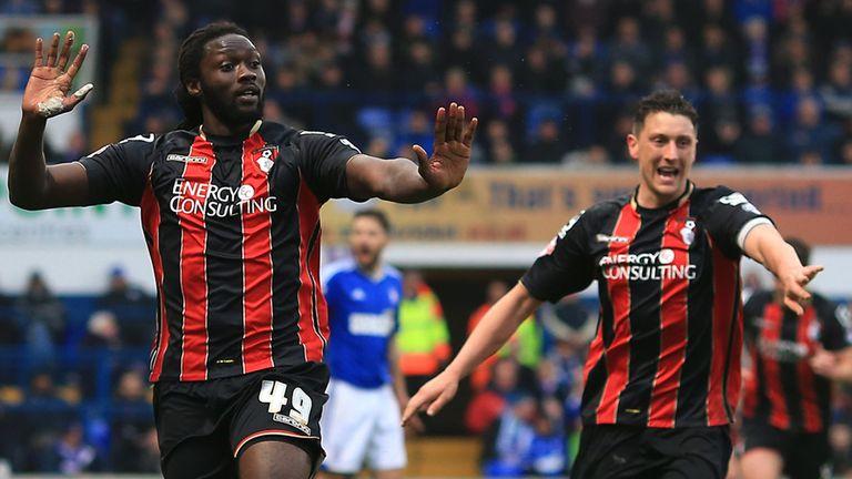 Kenwyne Jones: Late equaliser for Bournemouth