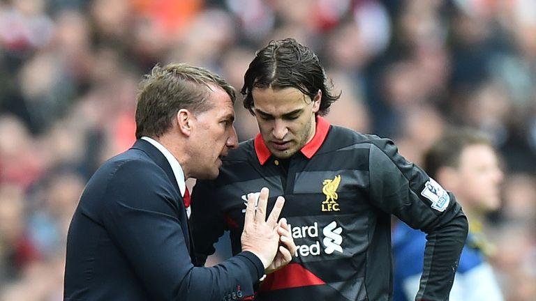 Brendan Rodgers, Lazar Markovic, Arsenal v Liverpool, Premier League